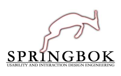 This is our team logo, the Springbok! For more details, click the Case Study link in the project synopsis.